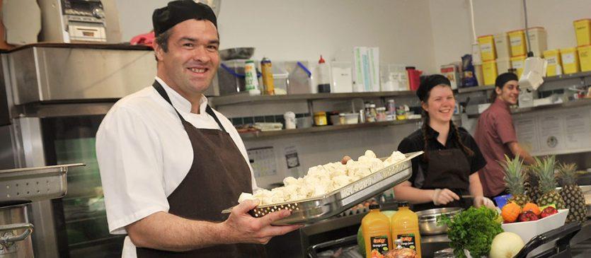 Westmont Chefs in the Kitchen